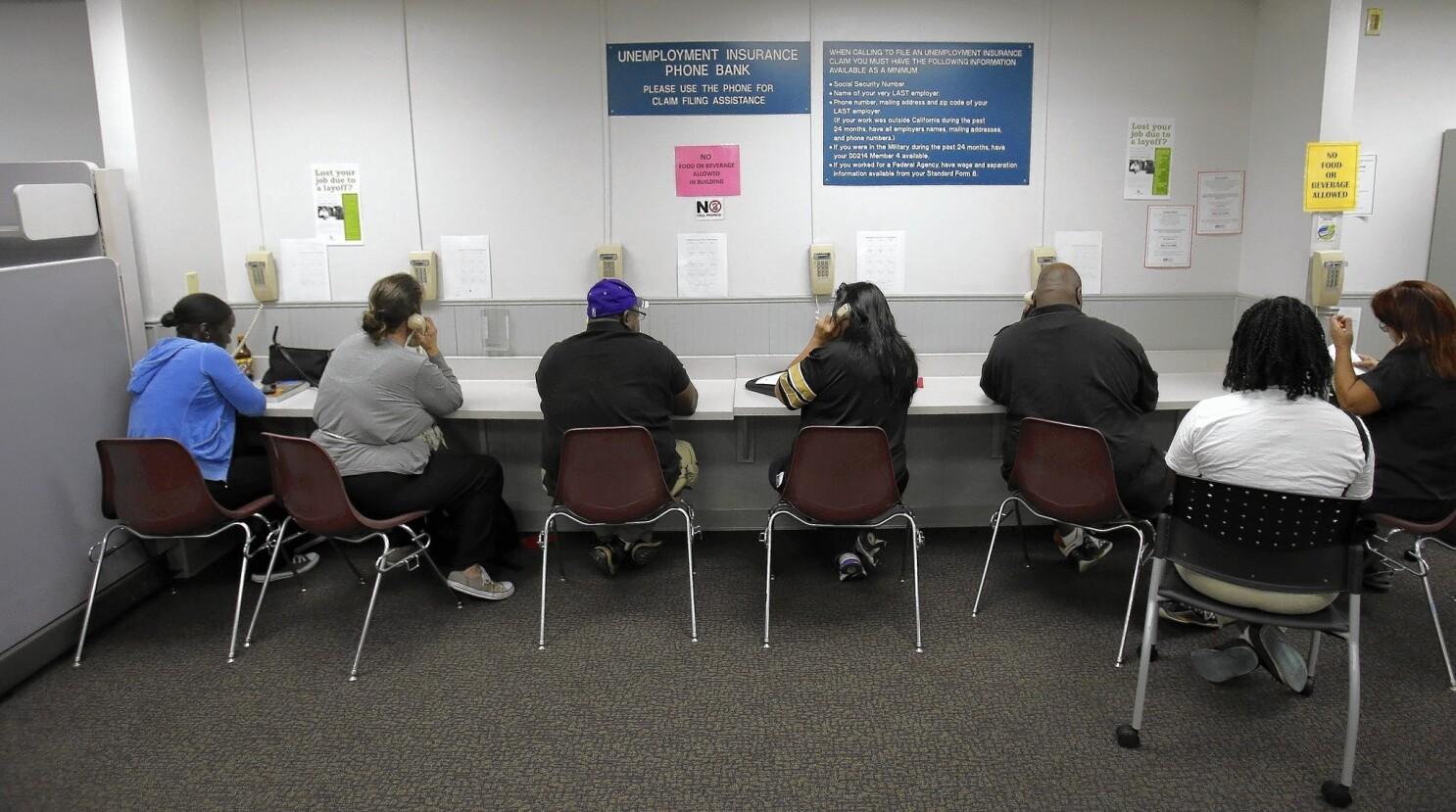 EDD makes big improvements in phone service - Los Angeles Times