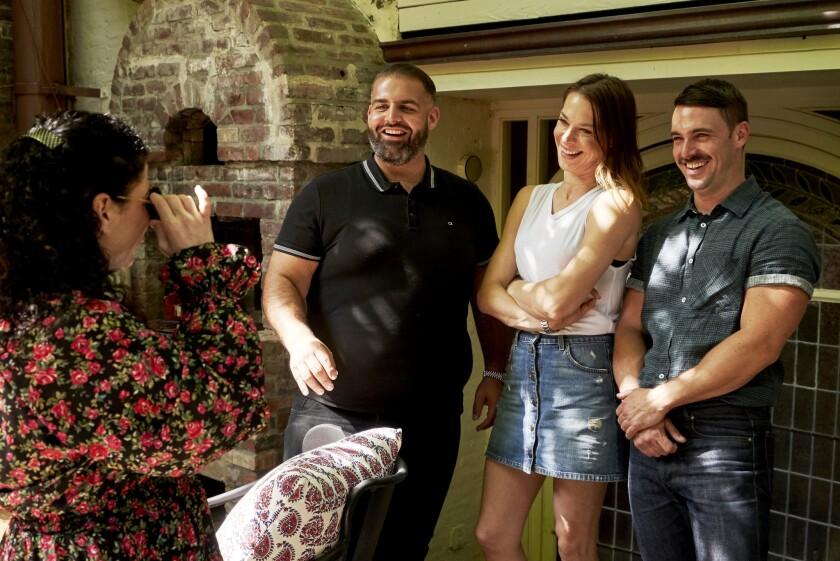 Brooklyn trio creates sky-high leafy perches on Bravo's 'Backyard Envy'