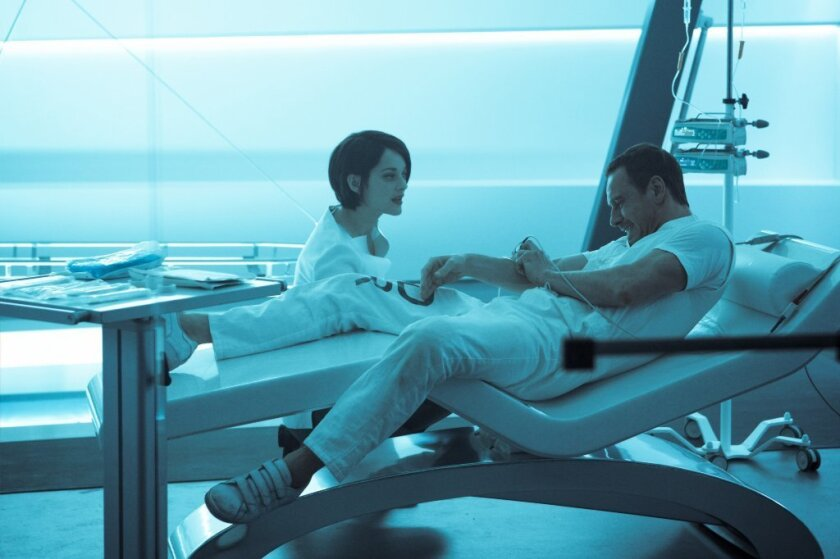"""Marion Cotillard, left, and Michael Fassbender in a scene from the movie """"A"""