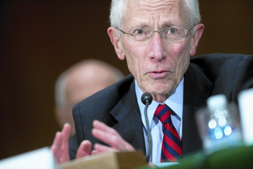 Stanley Fischer won Senate confirmation to become a member of the Fed's board of governors.