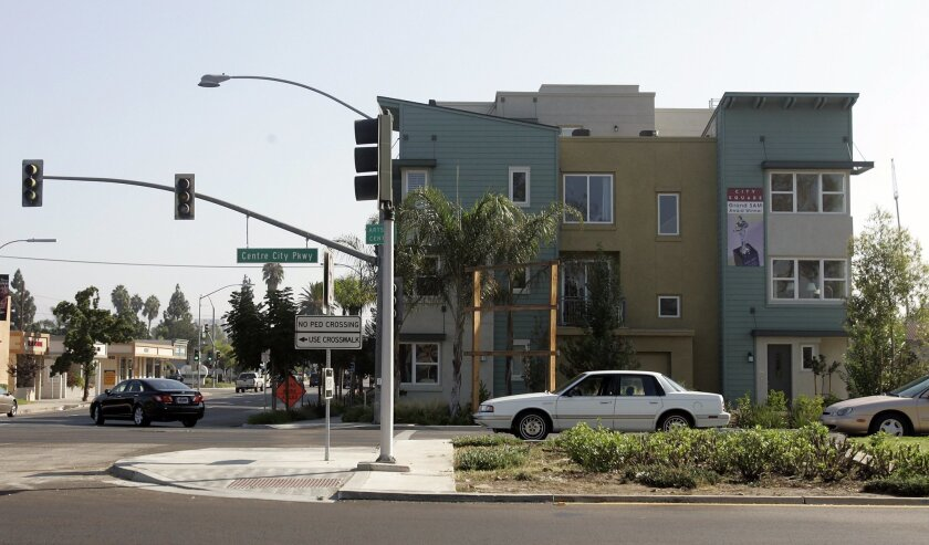 City Square at Centre City Parkway and Second Avenue in downtown Escondido is now set to be  completed.