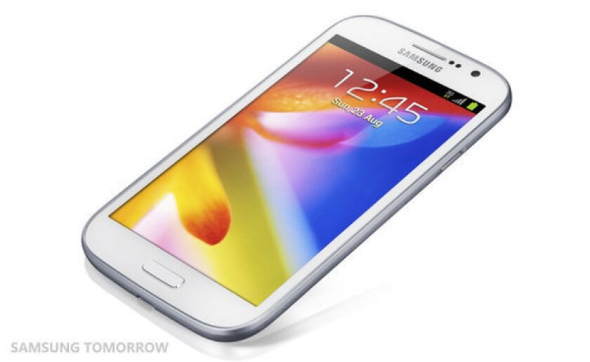 Samsung unveils Galaxy Grand smartphone with a 5-inch screen