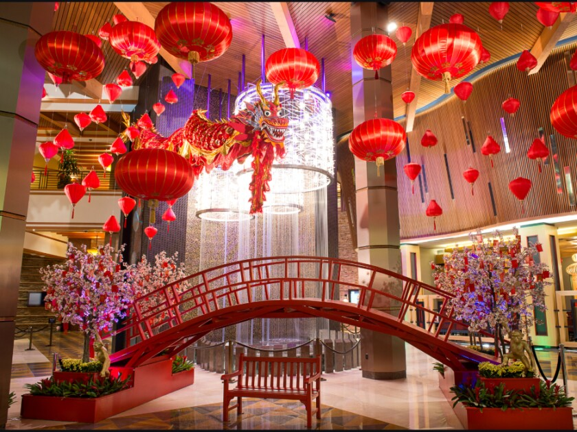 The Lunar New Year means savings on rooms at Pechanga Resort Casino in Temecula.