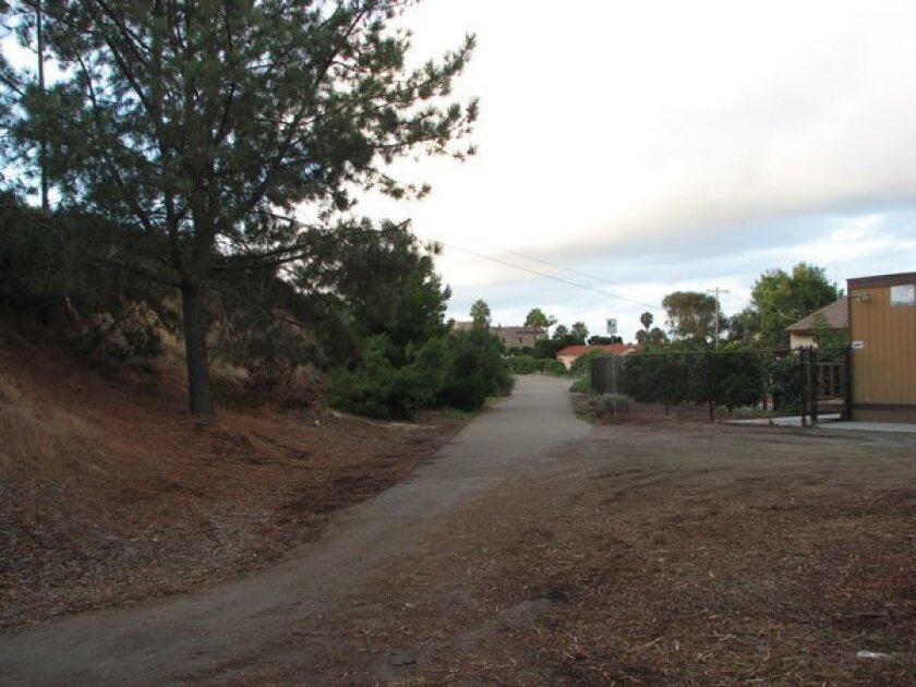La Jolla's bike path. Light File Photo