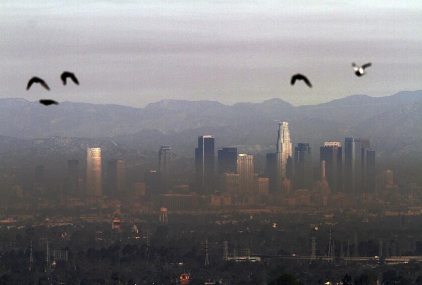 Dirty air in Los Angeles
