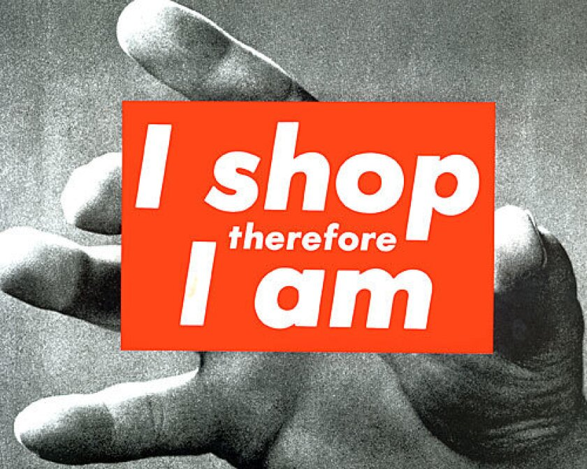Our society makes compulsive shopping especially palatable.