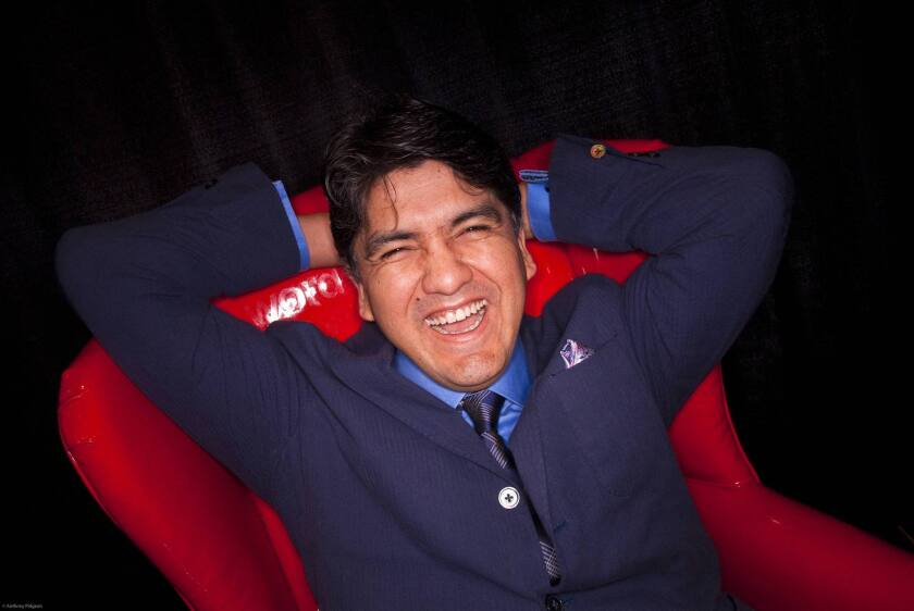 """The Absolutely True Diary of a Part-Time Indian"" by Sherman Alexie is among seven books suspended from a Dallas-area high school's reading list. Above, Alexie in 2009."