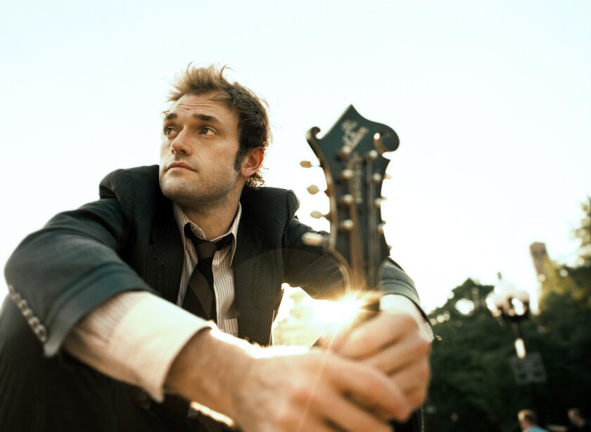 """Coffee is a pretty big constant in my life,"" says Chris Thile. ""It shows up in my lyrics a bunch."""