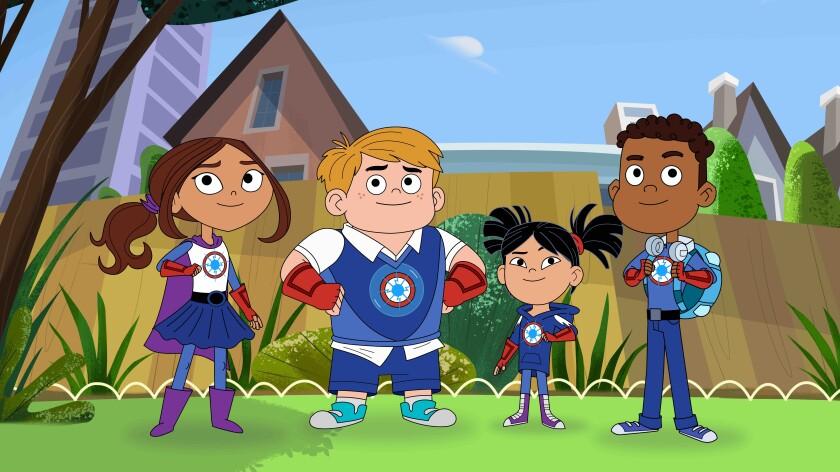 TV-Superhero With Autism