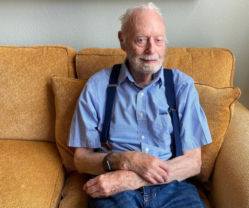 Centenarian Ken Watson has pursued physics and photography and has always had fun.