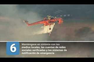 10 consejos para estar preparado en caso de evacuación por un incendio