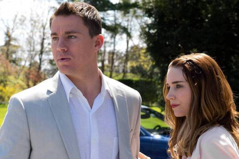 """Channing Tatum and Rooney Mara in """"Side Effects."""""""