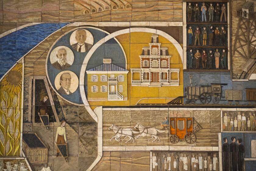 Mt. San Rafael Hospital mosaic
