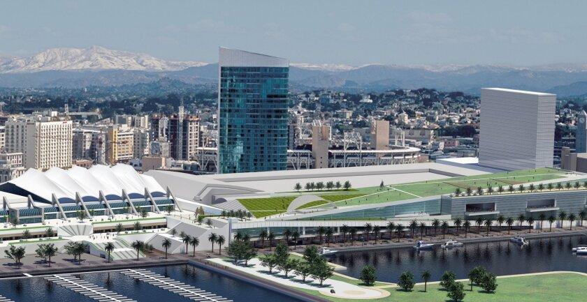A proposed $700 million expansion of the San Diego Convention Center has been proposed but is not financed yet.