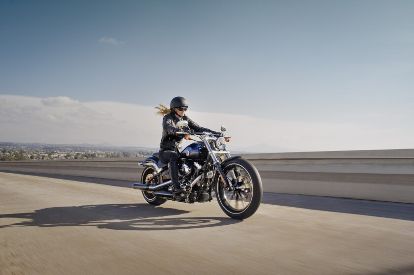 A Harley-Davidson-sponsored study about women and motorcycles says those who ride are considerably happier, more confident and more fulfilled than those who do not.