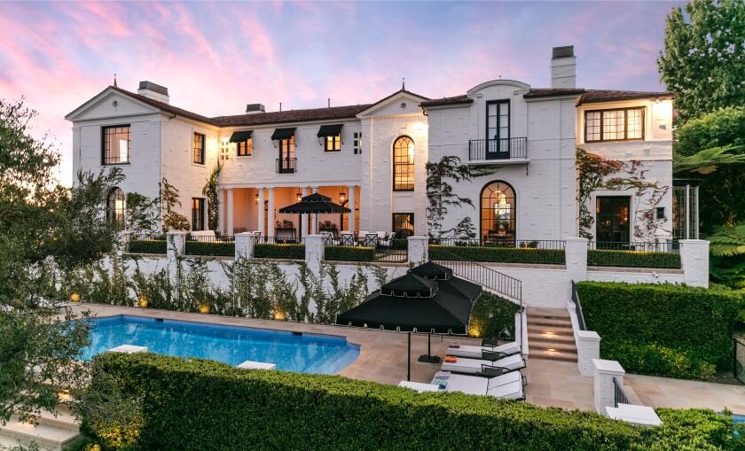 'American Idol' creator Simon Fuller trims price of Bel-Air mansion to $32.5 million