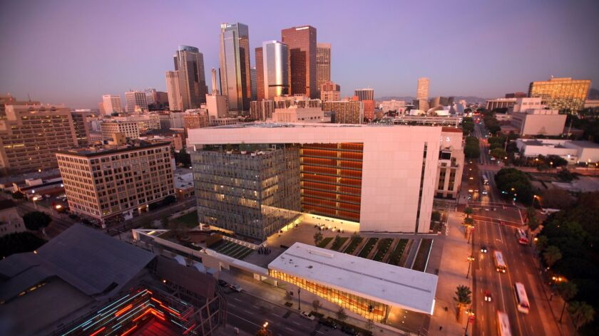 The newish Los Angeles Police Department headquarters in downtown Los Angeles will be one of the stops on the pop-up Harry Bosch walking tour.