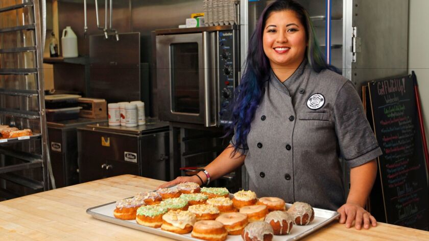 Executive Pastry Chef Kristianna Zabala of Nomad Donuts in North Park.