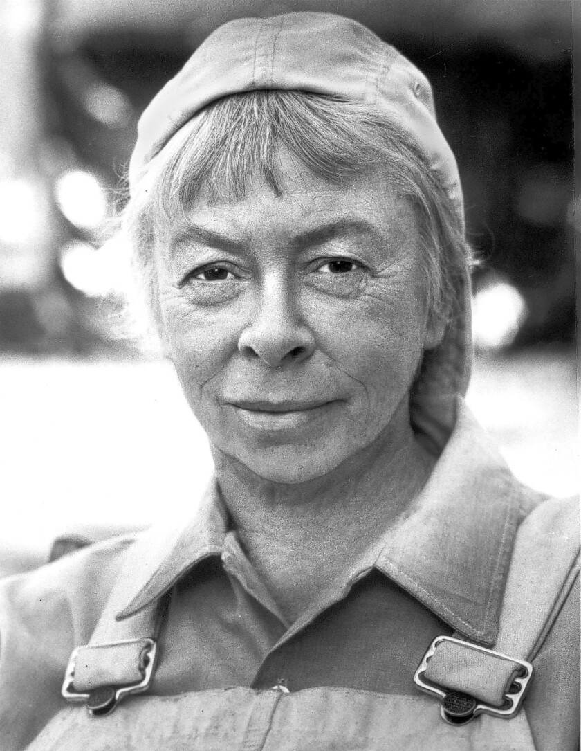 """Mary Grace Canfield, an actress best known for her role as Ralph the carpenter on TV's """"Green Acres,"""" has died in Santa Barbara. She was 89."""