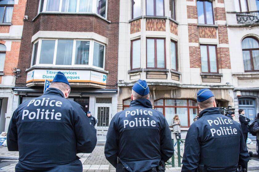 Belgiums raids