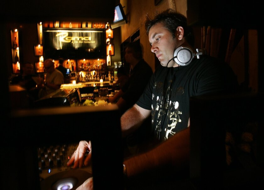 Inside the Thai restaurant Rama, which resumes its DJ nights mid July 2013.