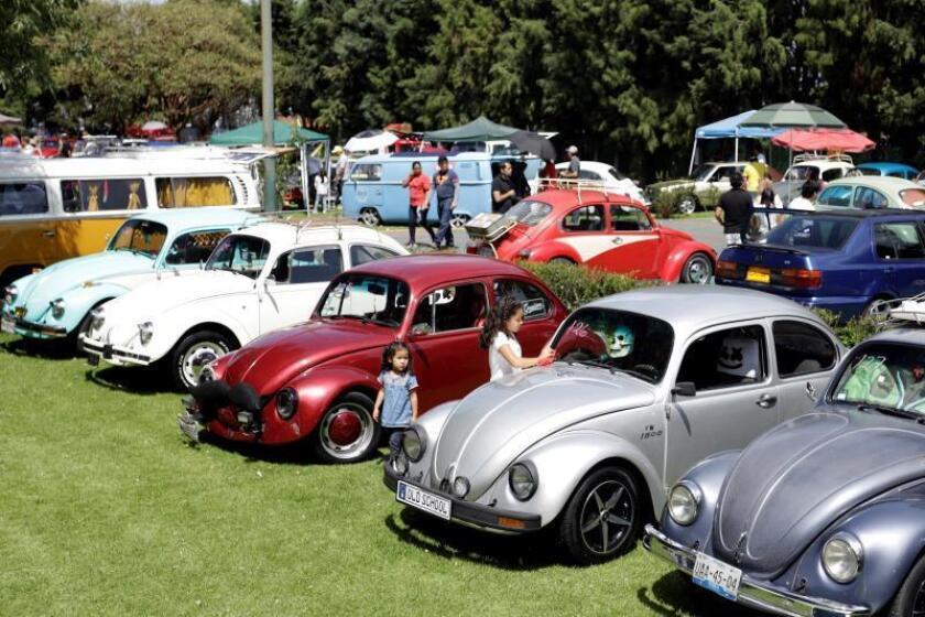 México busca quitarle a Brasil el Guinness de más autos Volkswagen juntos