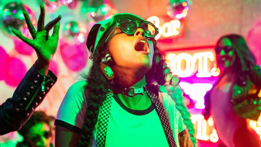 """Janelle Monáe, whose new album is """"Dirty Computer,"""" performs this month in Los Angeles."""