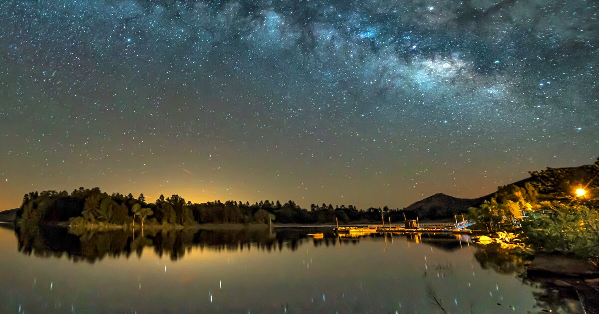 San Diego County mountain town Julian is named California's second dark-sky community