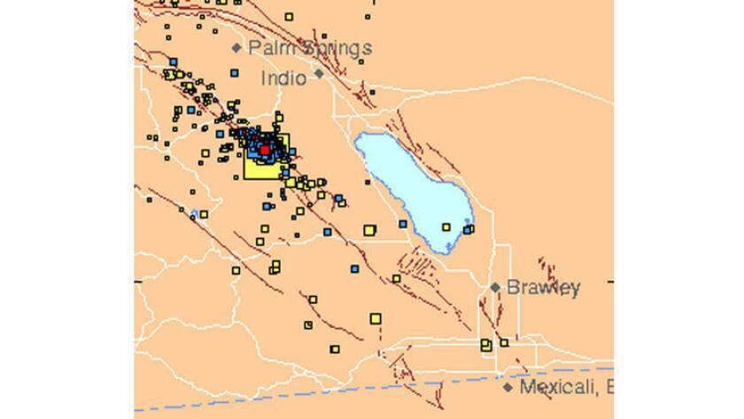 Expertos indicaron que los remesones son comunes después de temblores significativos, y el del viernes, que se sintió desde San Diego a Los Ángeles y más allá - produjeron otros cuantos sismos mayores a 3.0 grados, aunque la mayoría fueron mucho más pequeños.