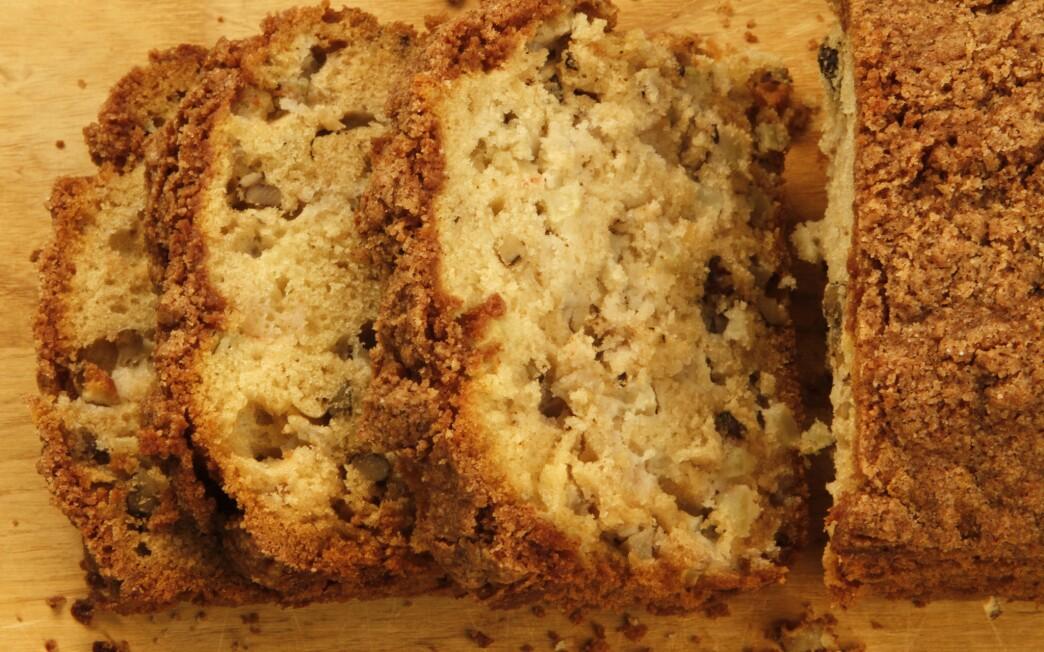1881 Coffee Cafe's Dutch apple walnut loaf