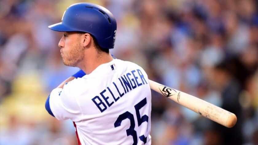 new product e4a6a 2e213 Cody Bellinger has become a favorite for Dodgers fans - Los ...