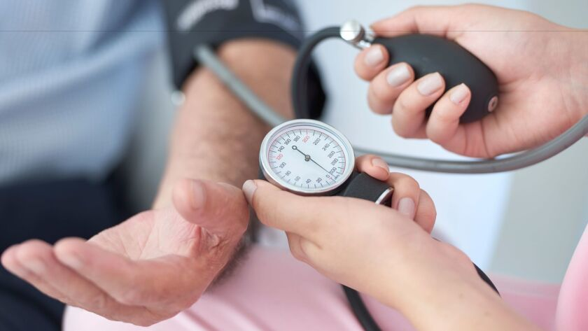 Keep blood pressure under control to reduce dementia risk.
