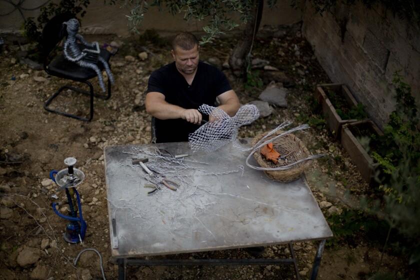 Palestinian Wire Artist