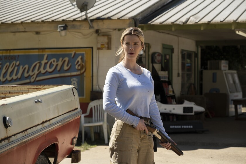 "Betty Gilpin stars in ""The Hunt"""