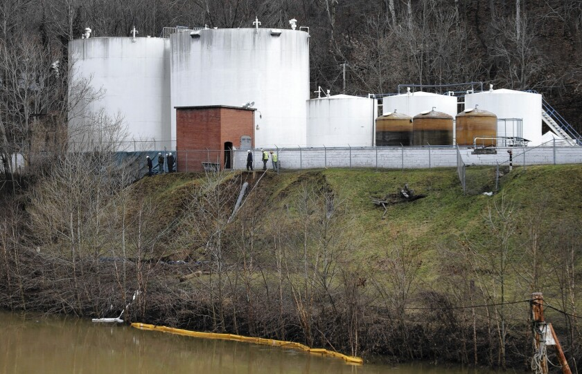 West Virginia puzzled, outraged over chemical leak