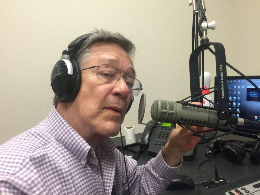 <p>Gary Sheler, 70, has broadcast in Bullhead City since 1996, most recently at the conservative KZZ