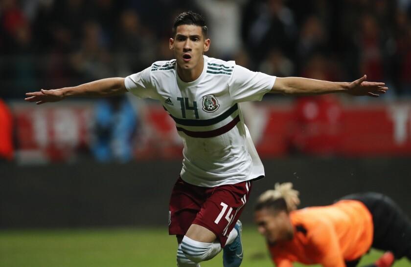 Uriel Antuna de la Selección Mexicana