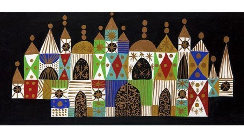 Mary Blair concept paintings