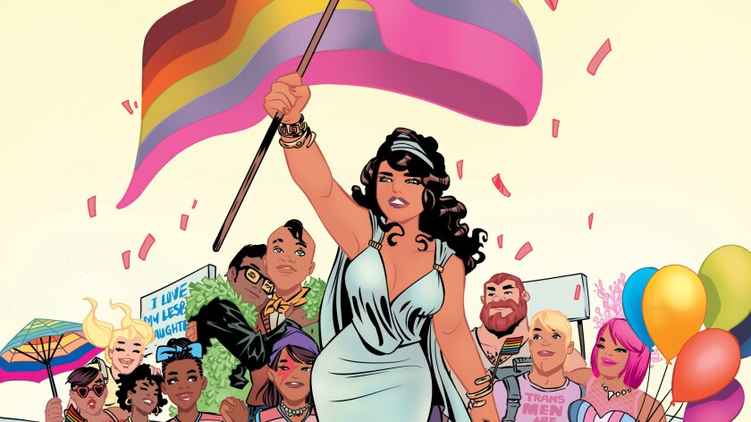 "The cover for ""Love Is Love"" by Elsa Charretier."