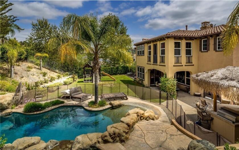 Corey Dillon's Calabasas home