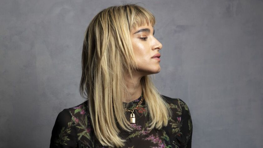 """TORONTO, ONT. -- SEPTEMBER 08, 2018-- Actress Sofia Boutella from the film, """"Climax,"""" photographe"""