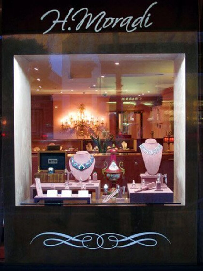 H. Moradi Fine and Estate Jewelers is located at 1237 Prospect St., Suite A in La Jolla.