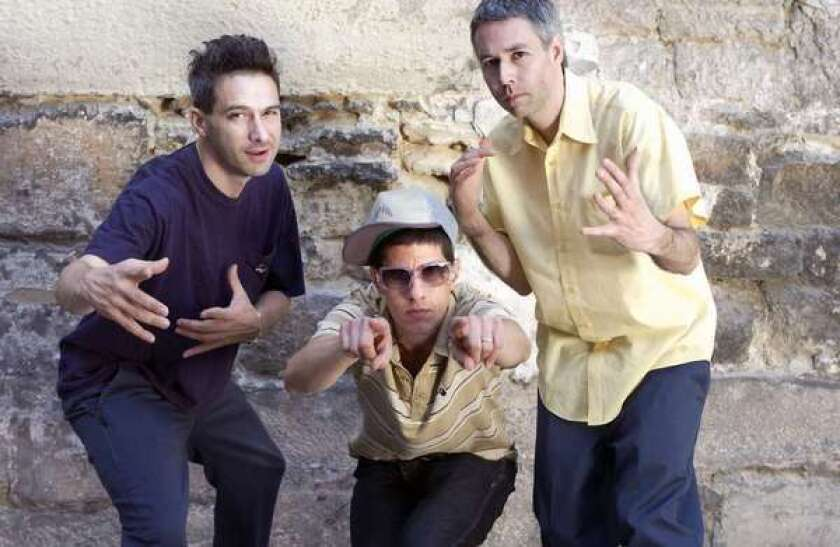 The Beastie Boys -- from left, Ad-Rock Mike D and MCA -- in 2004.