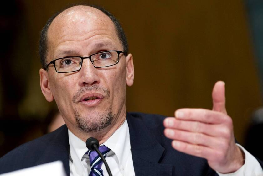 Assistant Atty. Gen. Thomas Perez heads the Civil Rights Division of the Justice Department.