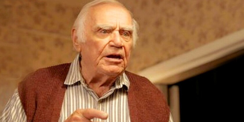"""Ernest Borgnine stars in """"The Man Who Shook the Hand of Vicente Fernandez."""""""