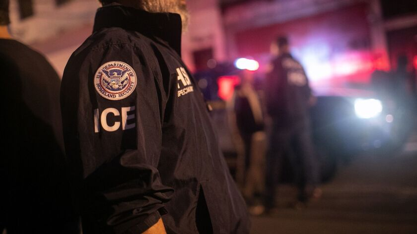 An ICE crackdown may start Sunday, and is expected to target L.A. and other major cities.
