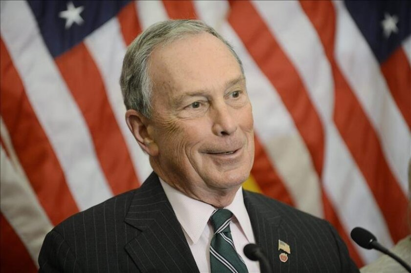 El alcalde de Nueva York, Michael Bloomberg. EFE/Archivo