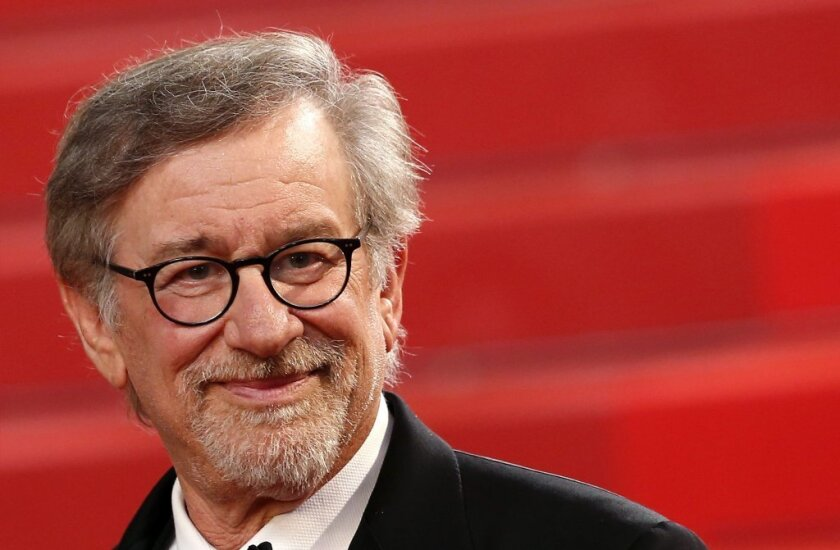 "Director Steven Spielberg after the screening of ""The BFG"" during the 69th annual Cannes Film Festival."