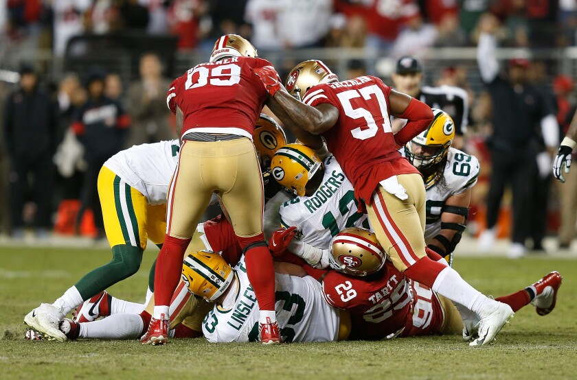 49ers Rise In Nfc Could Mean Big Trouble For The Rams Los