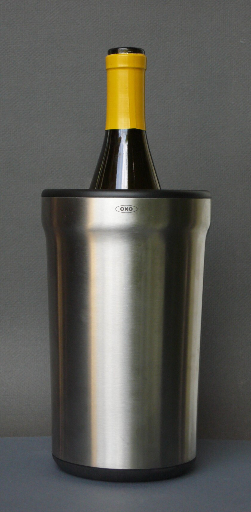 OXO's steel wine sleeve